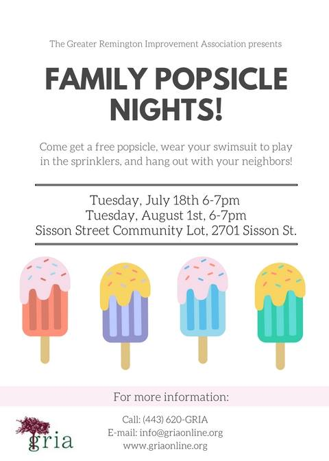 GRIA Popsicle Nights