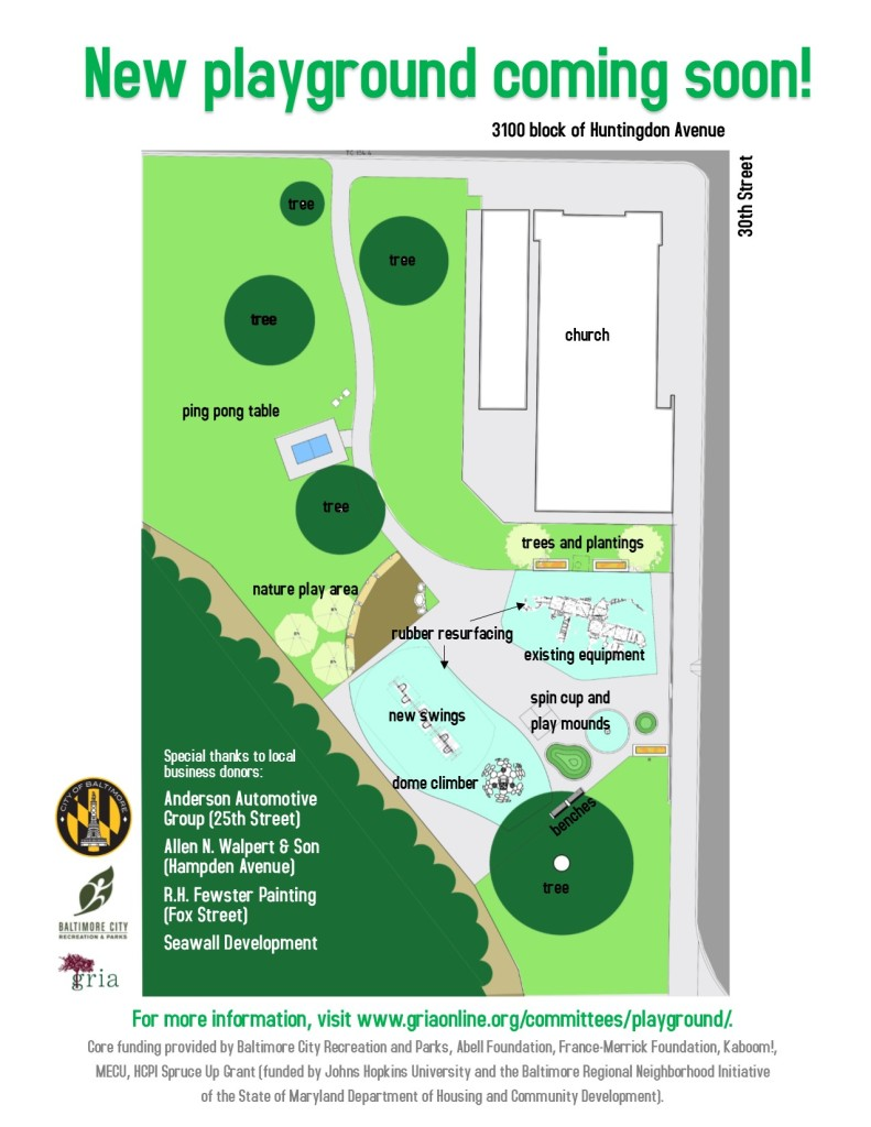 Playground flyer