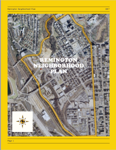 Remington Master Plan Cover